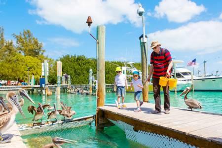Kids in Key West Fishing