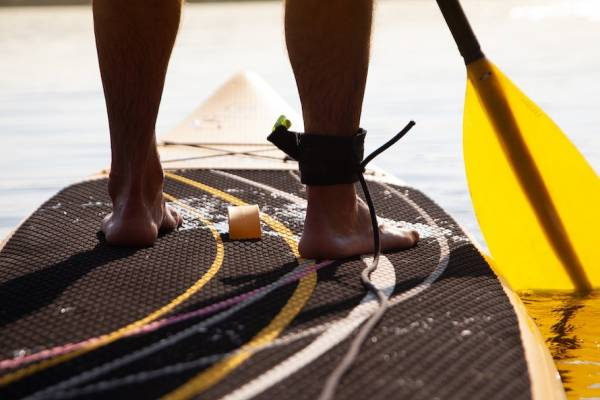 Paddleboarding in Key West