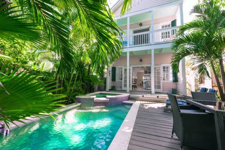 the pink house in key west