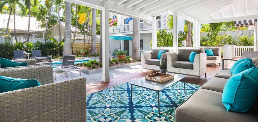 Villa Luxe Porch - Key West Vacation Rental