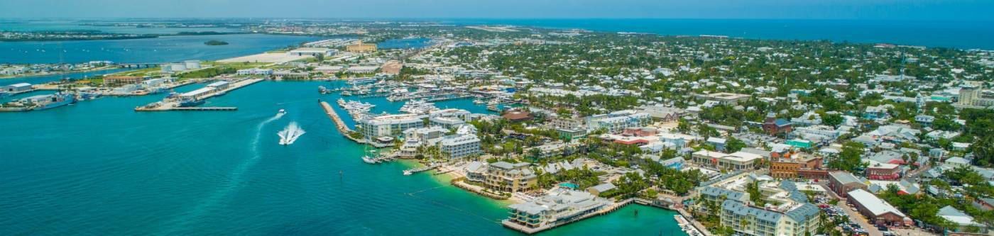 Key West Florida Aerial View